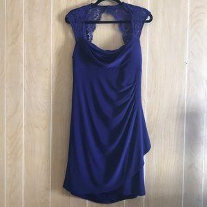 Scarlett Nite Size 14 Sleeveless Faux Wrap Dress